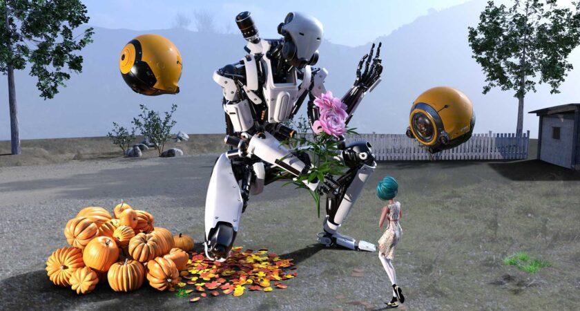 Japonia: dwumetrowe roboty pracownikami sklepów